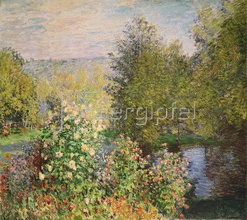 Claude Monet: Eine Ecke des Gartens bei Montgeron, 1876