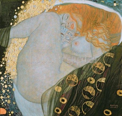 Gustav Klimt: Danae, 1907-08
