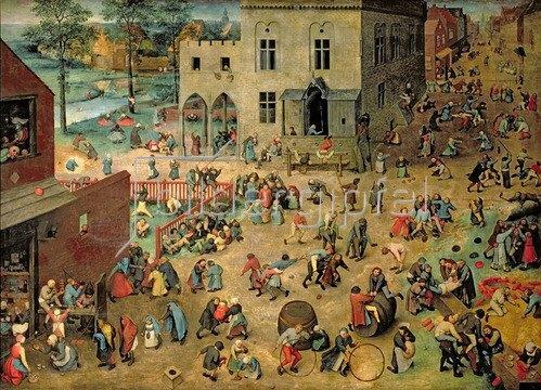 Pieter Brueghel d.Ä.: Kinderspiele, 1560