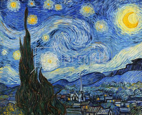 Vincent van Gogh: Sternennacht