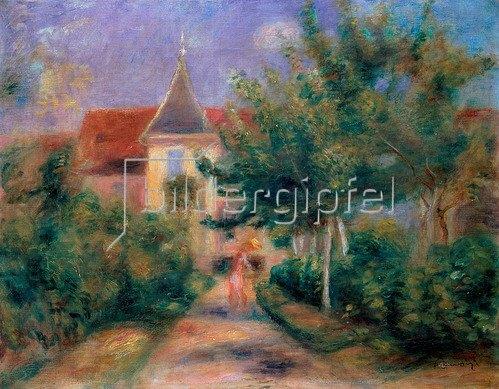 Auguste Renoir: Renoirs Haus bei Essoyes, 1906