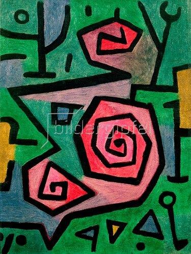 Paul Klee: Heroische Rosen, 1938