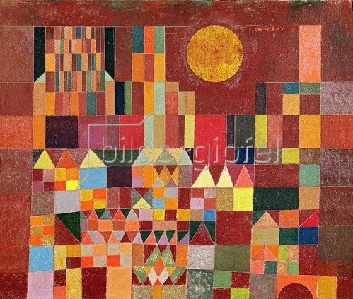 Paul Klee: Castle and Sun, 1928