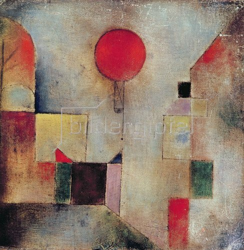 Paul Klee: Roter Ballon, 1922