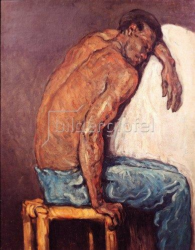 Paul Cézanne: Der Afrikaner Scipion, um 1866
