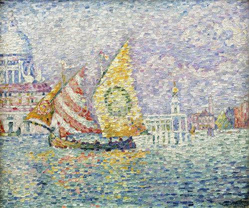 Paul Signac: Bragozzo, Venedig. 1905