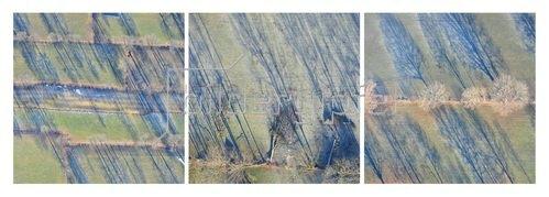 Günter Kozeny: Landschaft aus der Vogelperspektive