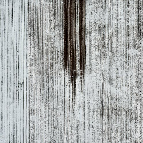 Günter Kozeny: Luftaufnahme, Ackerfläche im Winter