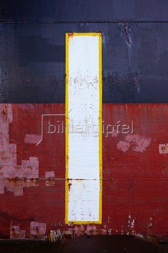 Hartmann / Banse: Bordwand 1. Nach Piet Mondrian.