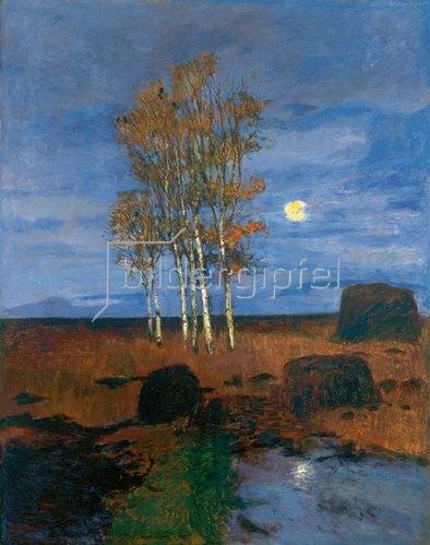 Carl Vinnen: Mondnacht