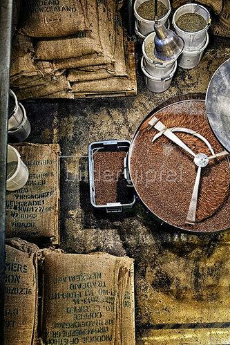 Horst A. Friedrichs: Kaffee Röstung