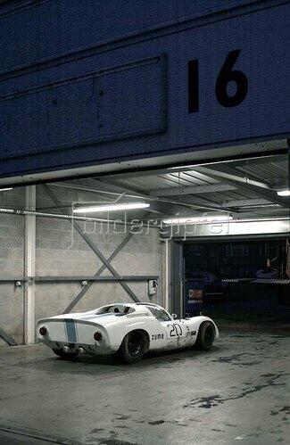 Horst A. Friedrichs: 1968 Porsche 910