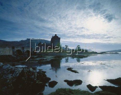 Eilean Donan Castle, Highland Region, Schottland, Grossbritannien