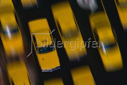 Yellow Cabs, New York City, New York, USA