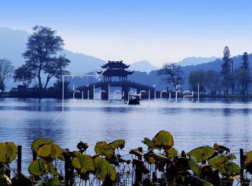 Westsee in Hangzhou, Zhejiang, China