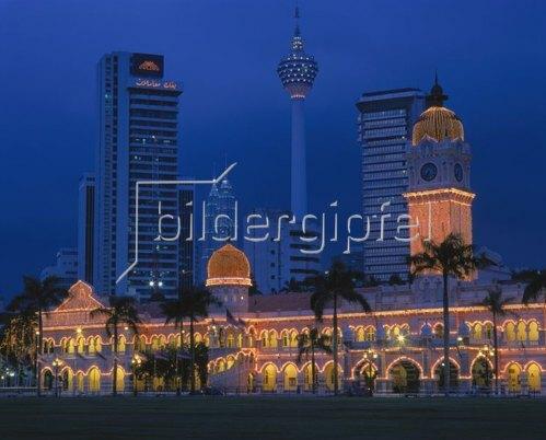 Sultan Abdul Samad Gebäude in Kuala Lumpur, Malaysia