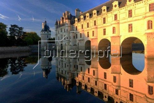 Schloss Chenonceau an der Cher, Departement Indre-et-Loire, Region Centre, Frankreich