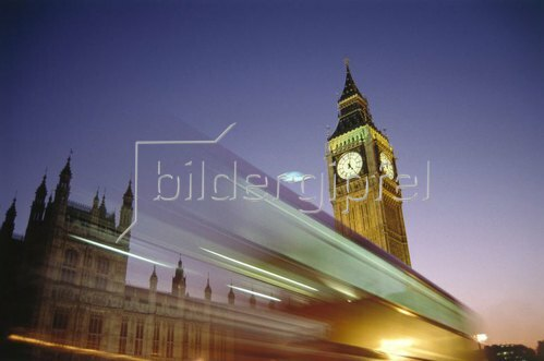 Big Ben und Parlament, London, Südengland, Großbritannien