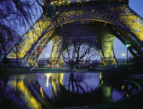 Tour Eiffel, Paris, Ile-de-France, Frankreich