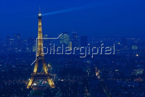View from Monparnasse, Paris, Ile de France, Frankreich