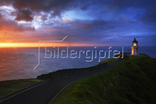Aupori Peninsula, Cape Reinga lighthouse, North Island, Neuseeland