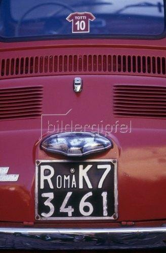 Fiat 500, Rom, Latium, Italien