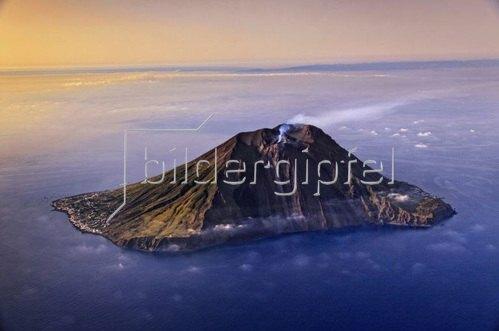 Stromboli Island, Liparische Inseln, Aeolische Inseln, Provinz Messina, Sizilien, Italien
