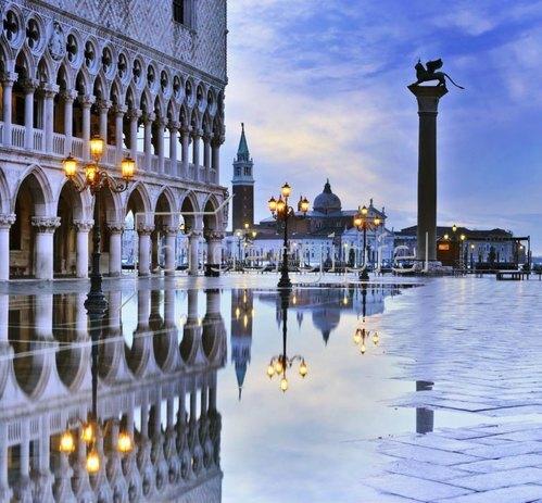 Markusplatz, Dogenpalast, Venedig, Provinz Venezia,