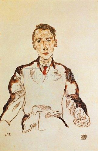 Egon Schiele: Bildnis von Dr. Heinrich Rieger, 1917