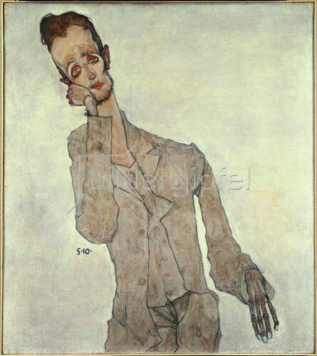 Egon Schiele: Bildnis des Malers Karl Zakovsek, 1910