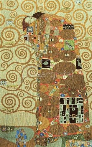 """Gustav Klimt: Werkvorlage für den """"Stocletfries"""", um 1908."""