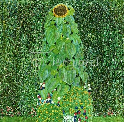 Gustav Klimt: Die Sonnenblume, um 1906/07