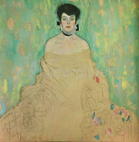 Gustav Klimt: Bildnis Amalie Zuckerkandl. Öl auf Leinwand. 1917/18.