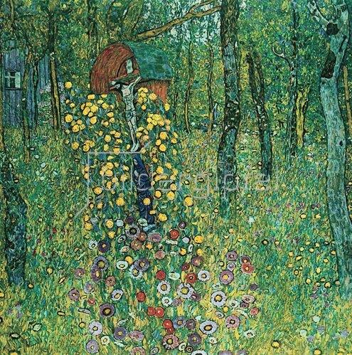 Gustav Klimt: Bauerngarten mit Kruzifix 1911/12 1945