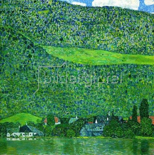 Gustav Klimt: Unterach am Attersee, 1915