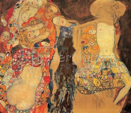 Gustav Klimt: Die Braut, Öl auf Leinwand 1917/18