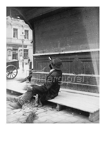 Emil Mayer: Trinker, um 1910