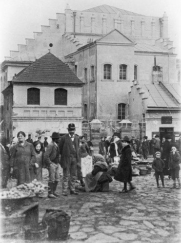Synagoge von Przemysl (Galizien). 1905.