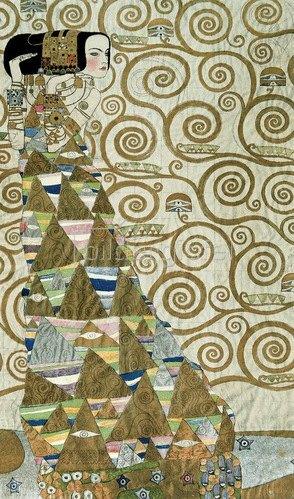 Gustav Klimt: Werkvorlage für den Stocletfries, um 1908.