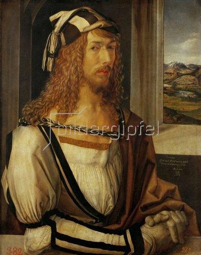 Albrecht Dürer: Albrecht Dürer Selbstportrait, 1498