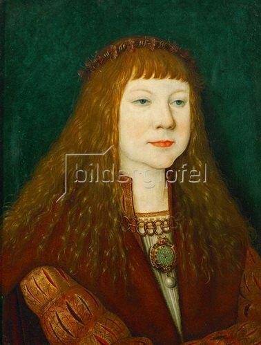 Bernhard Strigel: König Ludwig II von Ungarn als Kind 1515