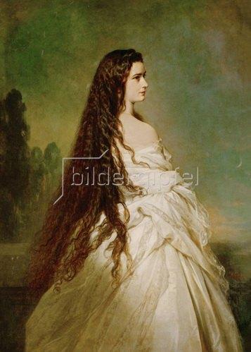 Franz Xaver Winterhalter: Kaiserin Elisabeth 1846