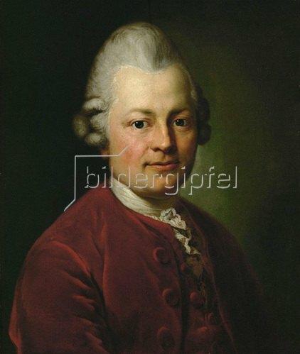 Anton Graff: Gotthold Ephraim Lessing 1771. Museum der Bildenden Kuenste, Leipzig.