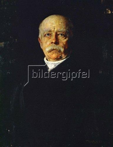 Franz von Lenbach: Otto von Bismarck (1815-1898) 1871