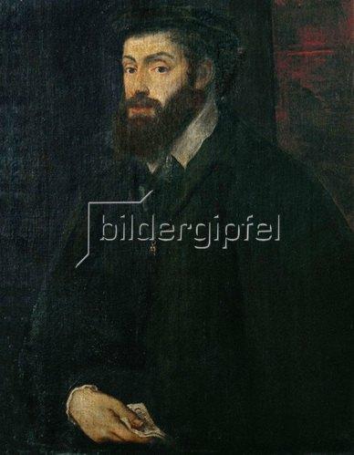 Tizian: Charles V, König von Frankreich. Gemälde