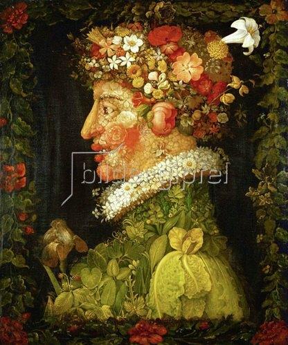 Giuseppe Arcimboldo: Frühling. Gemälde. 1573