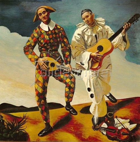 André Derain: Zwei Clowns