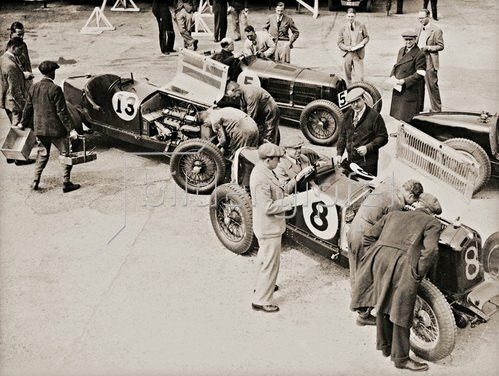 International Trophy Jubilee Race. Brooklands, England. Photographie 1935