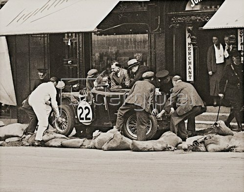 County Down Trophy Race. Ulster Automobile Club. Bangor, England. Photographie. 1935