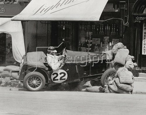 Das International Ulster Trophy Road Race Rennen. Irland. Juni 1935.